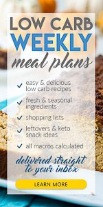 Low carb Meal Plan Tasteaholics