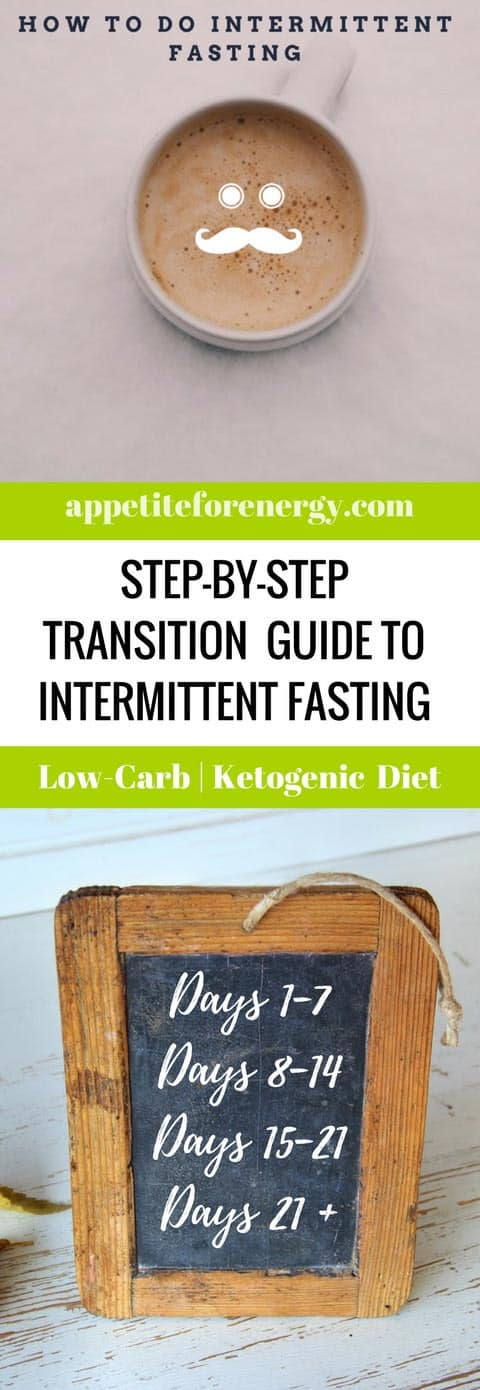 Follow our step-by-step adaptation guide to intermittent fasting. Transition smoothly over 3 weeks with our recommended tips and tricks. Low-carb diet | ketogenic diet intermittent fasting| keto diet weight loss | weight loss stall or plateau |kick start weight loss |bulletproof coffee| bulletproof intermittent fasting|MCT oil |how to use MCT oil | Atkins diet #IntermittentFasting #Fasting #howtostartintermittentfasting