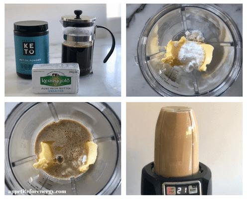 Process of Making Bulletproof Coffee