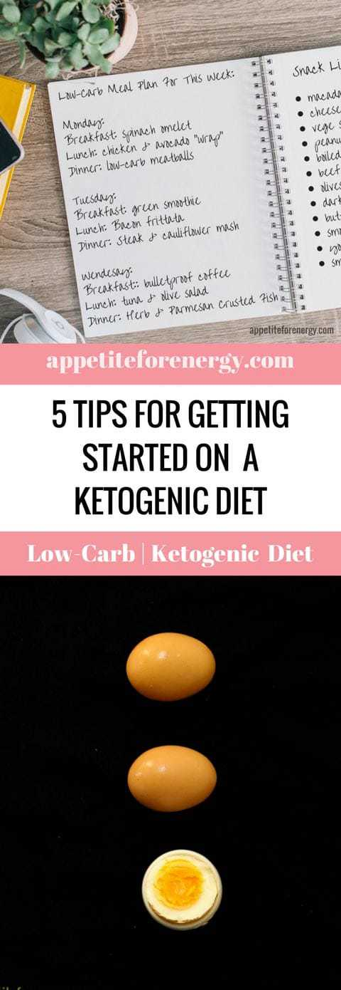 Are you ready to start a Ketogenic or Low-Carb Diet but just not sure where to start? Repin and click through to read our top 5 tips for transitioning onto a low-carb eating plan. We also share strategies for avoiding basic keto diet pitfalls. Start a Low-carb diet| how to start keto| tips for starting the ketogenic diet| #StartKeto #StartLow-CarbDiet #KetogenicDietTips #startketodiet