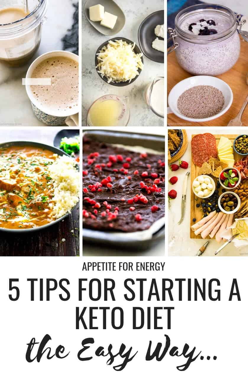 Are you ready to start a Ketogenic or Low-Carb Diet but just not sure where to start? Repin and click through to read our top 5 tips for transitioning onto a low-carb eating plan. We also share strategies for avoiding basic keto diet pitfalls for beginners. #keto #ketodiet #ketogenicdiet