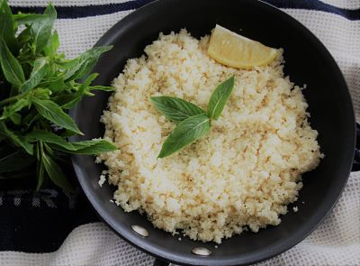 10 Minute Cauliflower Rice