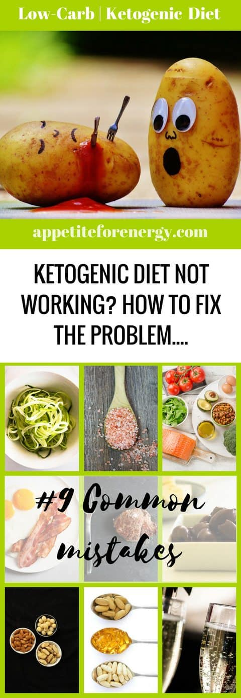Is the Ketogenic Diet not working for you? Maybe you aren't losing weight or are feeling weak and tired. Read The Definitive Guide To Keto Mistakes. FOLLOW us for more how-to guides. PIN and CLICK through to read the guide! ketogenic diet mistakes | low-carb diet troubleshooting |keto diet not working | keto flu #ketoflu #lowcarbmistakes #lowcarbdietproblems #ketogenicdietfail