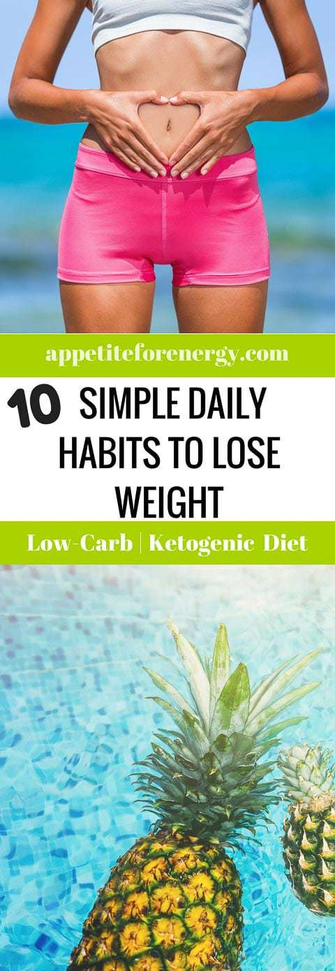 Are your daily habits helping you to achieve your weight loss goals?People who have lost weight and kept it off over many years utilize these DAILY habits. FOLLOW us for more like this. PIN and CLICK through to read! Weight loss| weight loss habits| simple weight loss| guide to losing weight|weight loss plateau|weight loss stall|healthy habits|low carb diet|easy weight loss| #weightlosshabits #healthyhabits #WeightlossTips