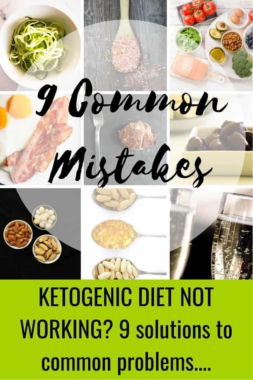 Get to the bottom of your Ketogenic and low-carb diet problems with these easy fixes. Download our free PDF guide with handy cheatsheet. Get back on track with keto weight loss and banish keto flu. #weightloss #keto #ketodiet #lowcarb #ketoflu