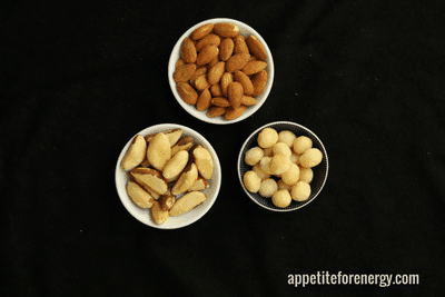 low-carb snacks nuts