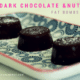 Dark chocolate & nut fat bombs