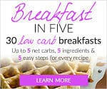 breakfast-in-five ebook cover showing a waffle