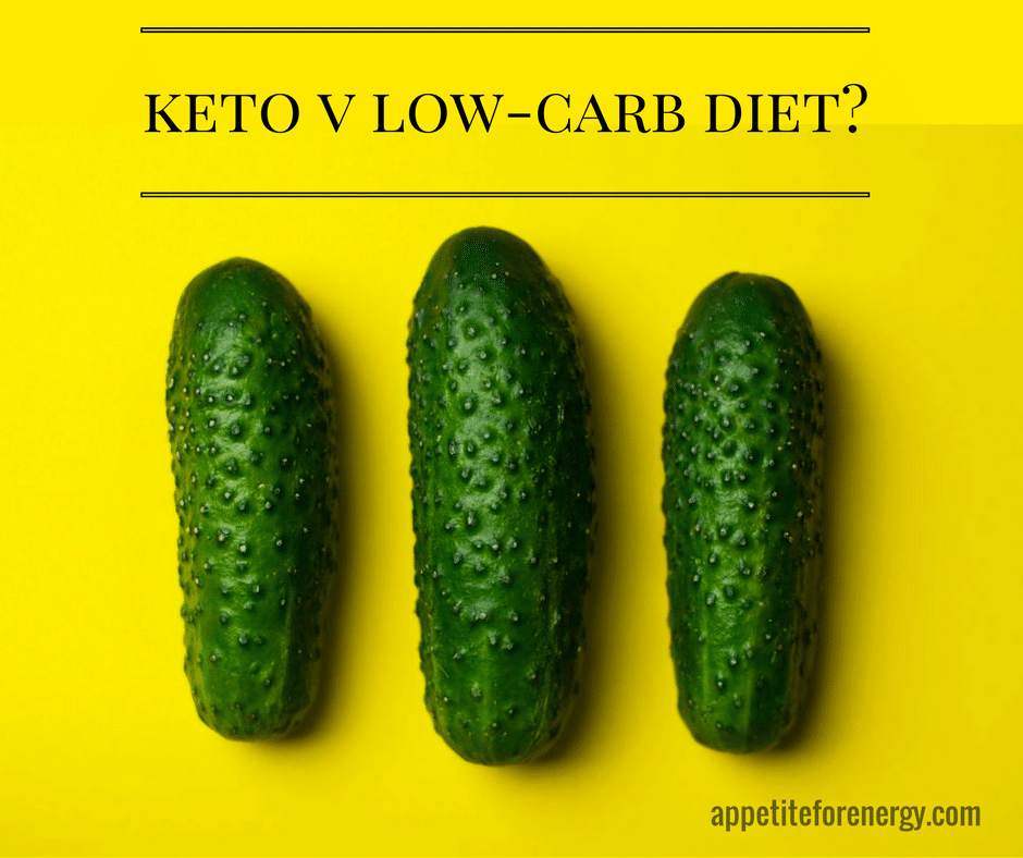 Ketogenic Diet v Low-Carb Diet. What's The Difference?