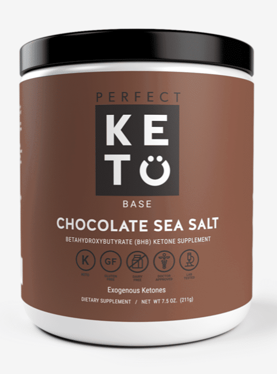 Perfect Keto Base Chocolate Sea Salt Flavor