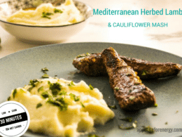 Low-Carb 30-Minute Greek Herbed Lamb