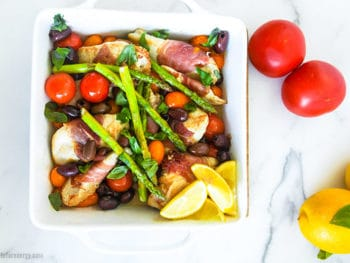 30 Minute Low-Carb Summer Chicken Tray Bake