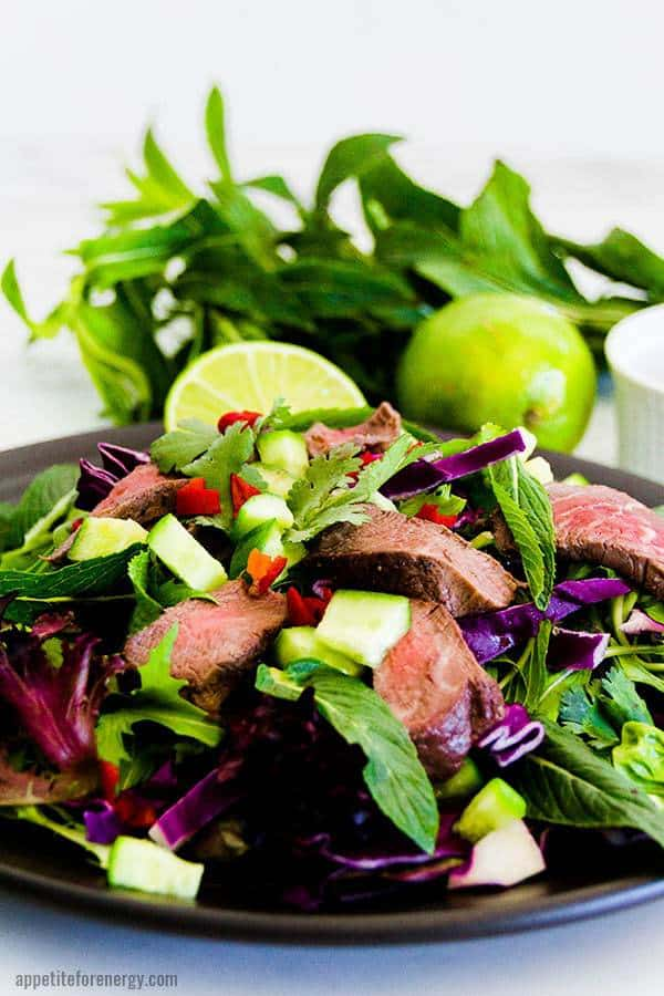 Low-Carb Thai Beef Salad