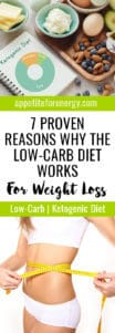 Ketogenic Diet notebook, avocado, butter, nuts, cream, eggs & lady measuring waist