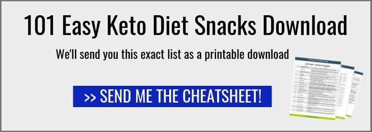 101 low carb snacks cheatsheet cheatsheet link