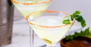 Low-Carb Spicy Margarita (keto, sugar-free)