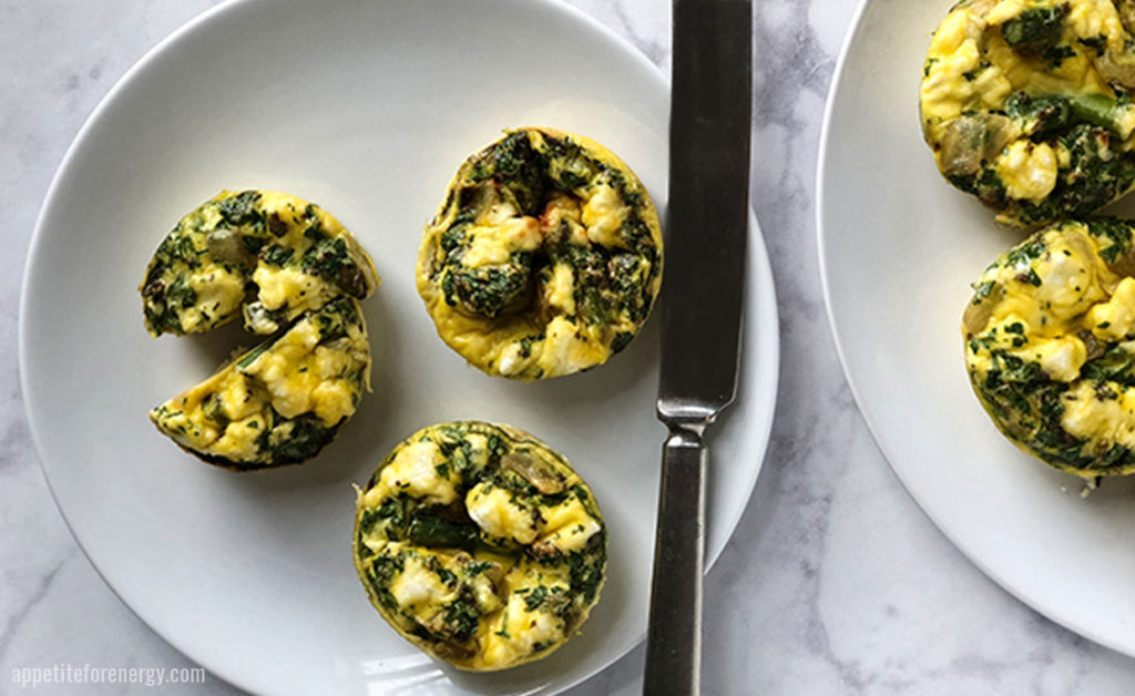 Spring Asparagus Frittata Muffins (low-carb, gluten-free)