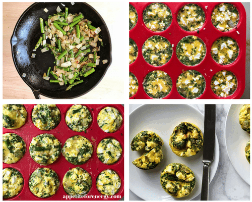 How to Make Spring Asparagus Frittata Muffins