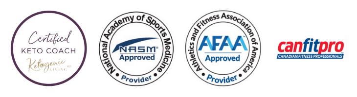 Ketogenic Diet Certifications