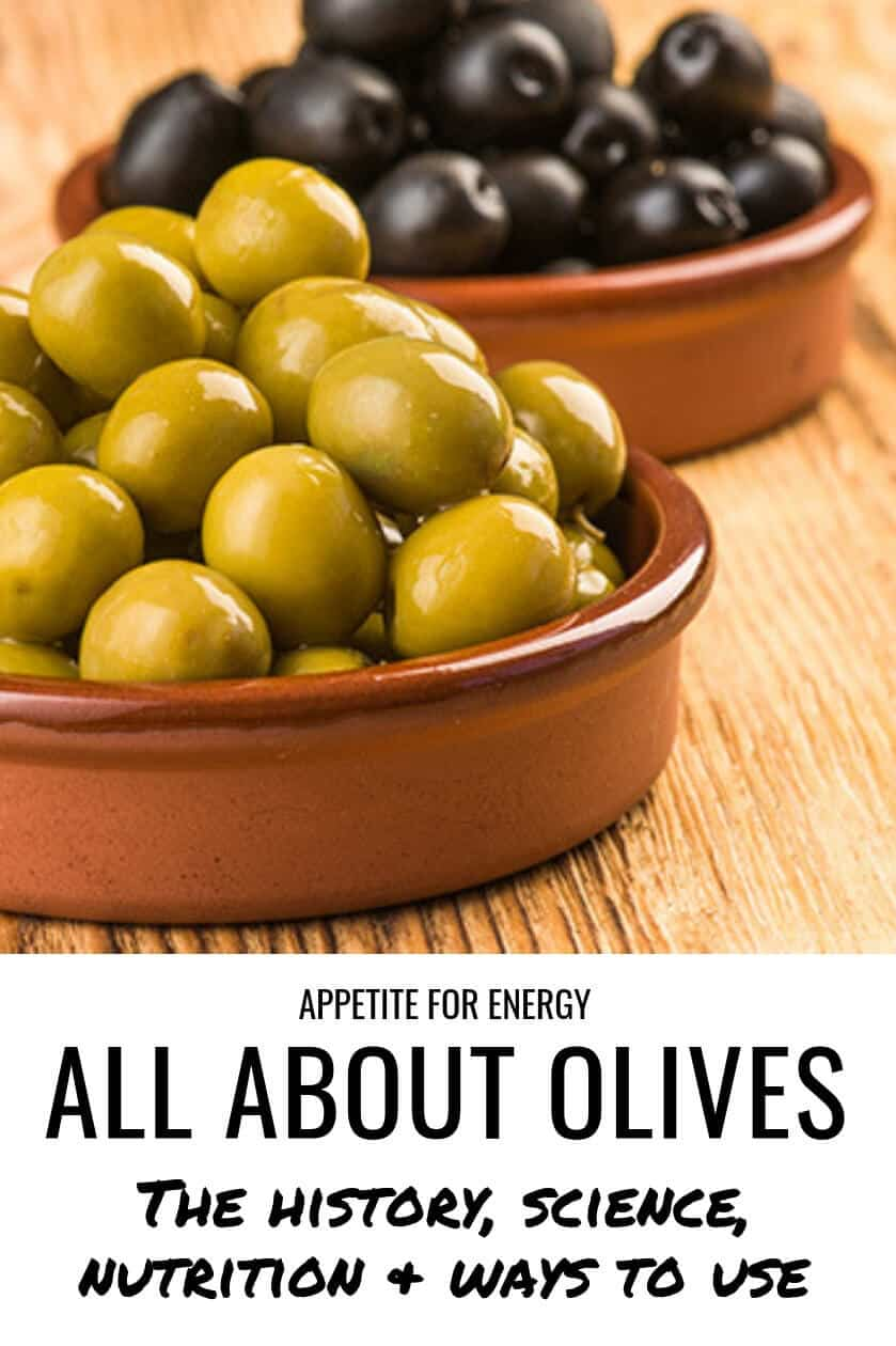 This tasty fruit is one of the most important food resources in world today. Learn the history, science, nutrition and the many ways you can use olives including the different methods of processing and curing olives to techniques for harvesting olives. Find out the many health benefits and many ways to enjoy olives. Olives are a health choice for gluten-free, ketogenic (keto), vegetarian and vegan diets. #olives #olivefacts #oliveoil