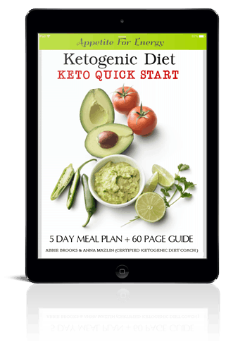 Ipad cover of eBook:5 Day Keto Quick Start Guide