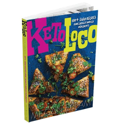 3D Image of Keto Loco Keto recipe Book