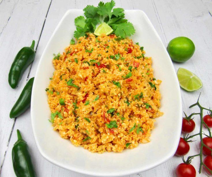 Mexican Cauliflower Rice