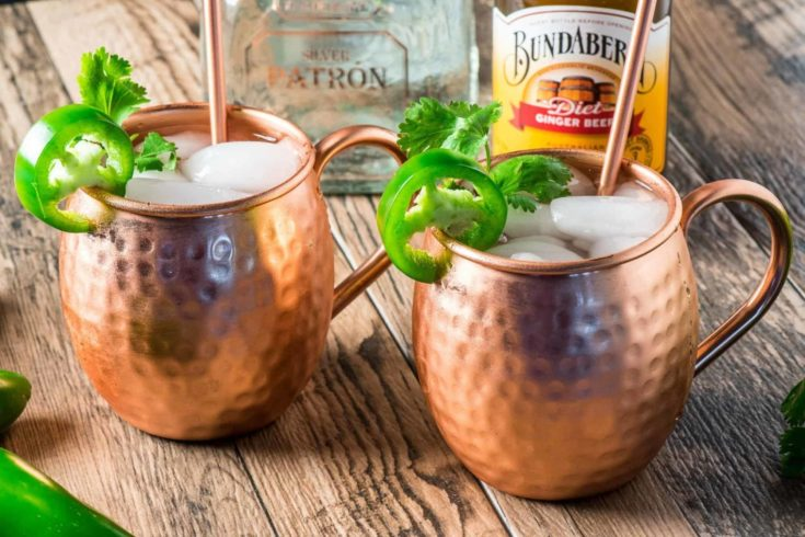 Low Carb Mexican Mule