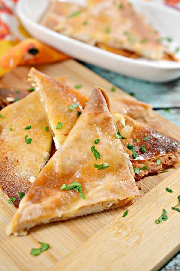 Low Carb Chicken Cheese Quesadilla