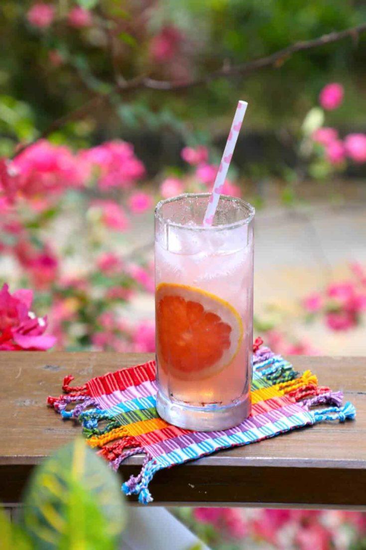 Keto Paloma Cocktail