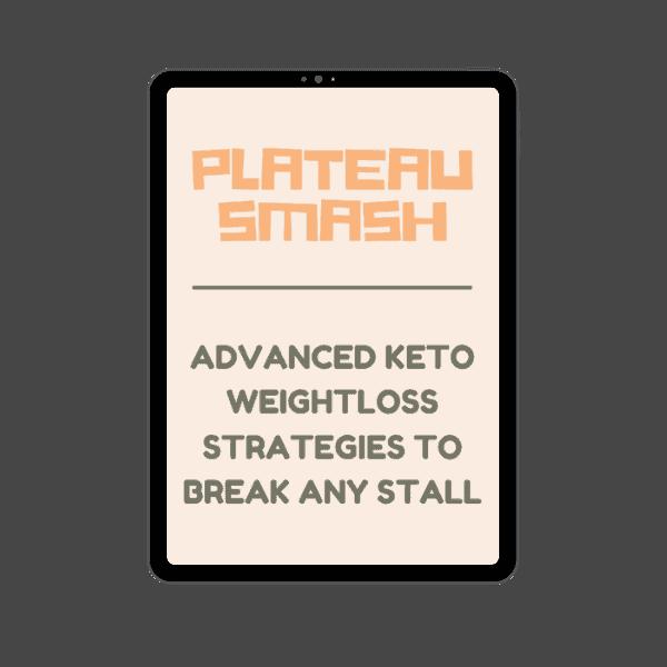 Ipad mockup of Plateau Smash
